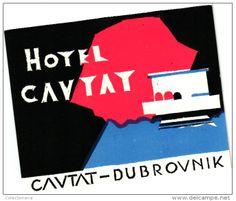 Hotel Cavtat, Dubrovnik, Croatia, Yugoslavia