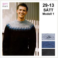 no - Spesialist på islandsk ull Ravelry, Men Sweater, Turtle Neck, Sweaters, Black, Fashion, Threading, Scale Model, Moda