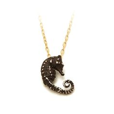 Elizabeth Knight: Product Sea Horse Necklace