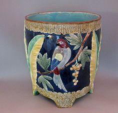 Holdcroft Majolica Cache Pot 1880