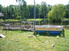 Esshups floating dock | Property Projects & Construction | Pond Boss Forum Kubota Tractors, Floating Dock, Outdoor Furniture Sets, Outdoor Decor, Pond, Construction, Building, Projects, Log Projects
