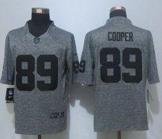 Nike Oakland Raiders #89 Amari Cooper White Elite Jersey | NFL ...
