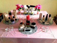 My Lovely Pink Table