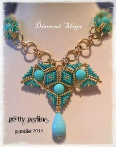 P@tty Perline : Diamond Shape