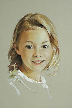 rob beckett portrait pastel paintings -