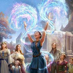 Daughter or Heir - fantasy - Dark Fantasy Art, Arte Final Fantasy, Fantasy Kunst, Fantasy Artwork, Fantasy World, Fantasy Wizard, Anime Fantasy, Fantasy Makeup, Character Concept