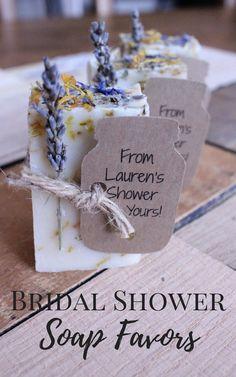 Bridal Shower Favors,wedding favors,wedding favors rustic,rustic wedding favor,party favor Lavender Calendula Guest Soap 2oz #affiliate #weddings #bridalshowerideas