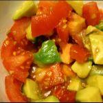 Insalata di avocado e pomodori ♥