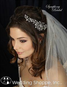 Headpieces Symphony CL2011 Bridal Headpiece Image 1