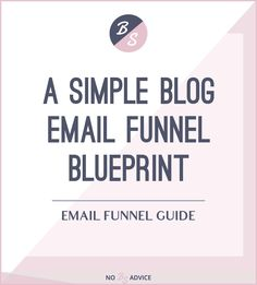 So someone signed up to your email list. Now it's time to guide your new subscribers through your email marketing funnel. Follow this email funnel blueprint
