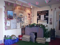 Image result for ww2 role play area