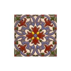 Handpainted Ceramic Old California Mission Tile Collection. Mediterranean tile. Kitchen Tile. San Diego. Contact us at mexicanarttile.com  or    (877) 817 8851
