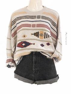 Mein True Vintage Hipster Pullover Muster Pulli Oversize Unisex Urban Style von true vintage! Größe Uni für 37,00 €. Sieh´s dir an: http://www.kleiderkreisel.de/damenmode/strickpullover/145523222-true-vintage-hipster-pullover-muster-pulli-oversize-unisex-urban-style.