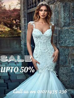🌟🌟 SALE 🌟🌟SALE🌟🌟SALE🌟🌟 DIAMOND'S BRIDAL END OF SEASON SALE - UP TO 50% OFF!! * Prices start from 5,000 EGP ONLY (SALE - NO RENT) * Call us now to book your fitting appointment on 010 11 435 236 * Working Hours: Fridays & Saturdays from 1:00pm till 9:00pm * Location: El Tagamo3 elkhames - next to Tes3een street. 💥40% off regular priced items!  Shop online 24/7 @   The lowest prices GUARANTEED!World\\\\\\\'s Largest Online Store  free shipping worldwide  http://fashiongarments.biz…