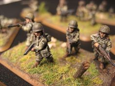 Flames of War, 15mm 101st Airborne, sergeant 2