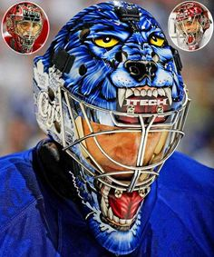 With no hockey season in sight, hockey fans have time to settle some important NHL-related debates. One such debate is which goalie has the best mask. SI counted down the Top 10 goalie masks of the and this gem by Curtis Joseph ranked No. Hockey Helmet, Hockey Goalie, Hockey Teams, Hockey Players, Hockey Stuff, Hockey Baby, Sports Teams, Goalie Gear, Hockey Girls