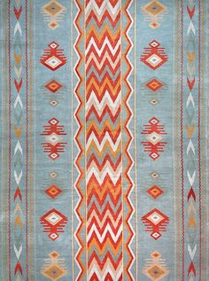 New Moon Rug   LW53A, Grey Blue/red. Featuring Tones Of Grey,
