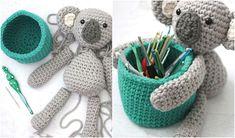 Koala Crochet Basket