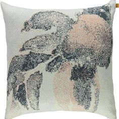 Our lovely Jacquard cushion 60X60 in 100% Organic Cotton