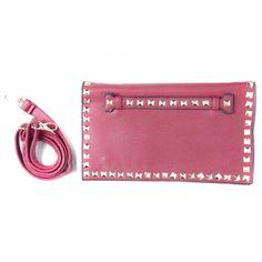 Clutch Valentino Vermelha Inspired  http://www.fashionera.com.br >> presentes de dia dos namorados com até 70% OFF e FRETE GRÁTIS!
