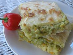 Pepper Roti - a popular west indian cuisine and quite possibly my favourite thing to eat!