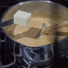 Butter for the rice pudding Fondue, Butter, Rice, Pudding, Cheese, Ethnic Recipes, Cleaning Tips, Top, Gastronomia