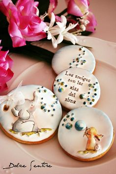 Friends are the wings of our souls | Cookie Connection ~Why are so many whimsies ...edible, in my world?