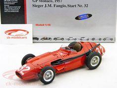 Fangio Maserati 250F #32 formula 1 worldchampion 1957 Winner GP Monaco 1:18 CMC