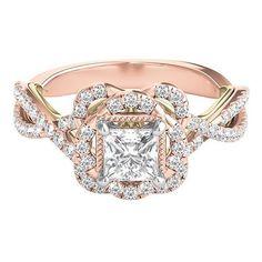 My beautiful engagement ring. By Zac Posen - TRULY.