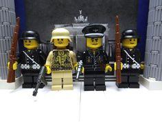 4x German's 1x Officer & 2x Guard's, 1x Afrikakorps Oberfeldwebel Pioneer
