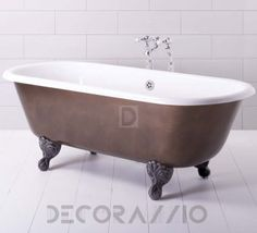 Best baths for your bathroom  Ванна из литьевого мрамора Traditional Bathrooms Mineralguss, ALB.DL4F.Cpbrown