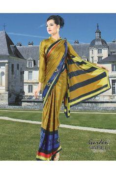 Buy Geometric Wonder Multicolor Crepe Saree Online at Just Rs.1,211/-