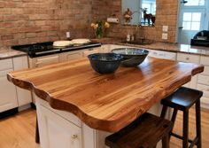 Antique Longleaf Pine - Custom Wood Countertops, Butcher Block Countertops, Kitchen Island Counter Tops
