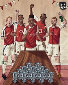 Arsenal Fc Players, Arsenal Football, Sports Graphic Design, Old Trafford, Great Team, Fa Cup, Funny Art, Fernando Torres, Juan Mata