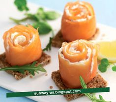 smoked-salmon-and-cream-cheese-roulades-recipe #RePin by AT Social Media Marketing - Pinterest Marketing Specialists ATSocialMedia.co.uk
