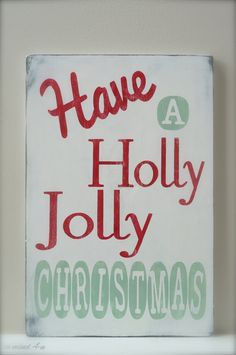 Christmas Sign, Holiday Sign by InMind4U