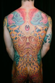 amazing alex gray backpiece & front in progress
