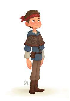 Young Adventurer by LuigiL.deviantart.com on @DeviantArt