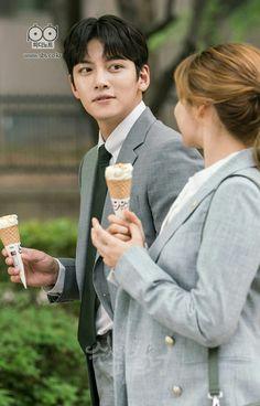 Ji Chang Wook Suspicious partner ice cream