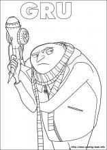 Minions coloring pages on Coloring-Book.info