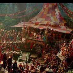 The movie Pan used some of my work and textiles... next time you see this amazing movie lookout for my Dangles,DreamCatchers... and these beautiful Black Hmong textiles ♡