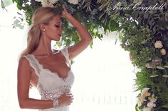 Well Dressed: Bridal Gown Collection by Anna Campbell - Forever Entwined | See More: http://www.thebridaldetective.com