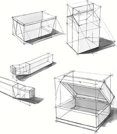 from Basic sketching by thomas valcke # Furniture drawing Basic sketching by thomas valcke Basic Sketching, Basic Drawing, Technical Drawing, Sketch Design, Pop Design, Design Lab, Design Concepts, Graphic Design, Perspective Drawing Lessons