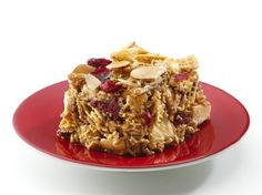 Gluten Free Chex No-Bake Apple Bars