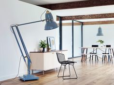 anglepoise scales-up its 1930s desk light with giant lamp collection
