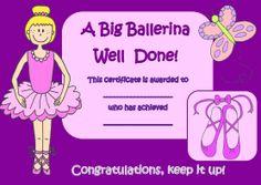 Our beautiful ballerina reward certificate is perfect for rewarding ballet achievements. Teach Dance, Dance Camp, Dance Recital, Learn To Dance, Teacher Games, Dance Teacher, Ballet Kids, Ballet Class, Dance Coloring Pages