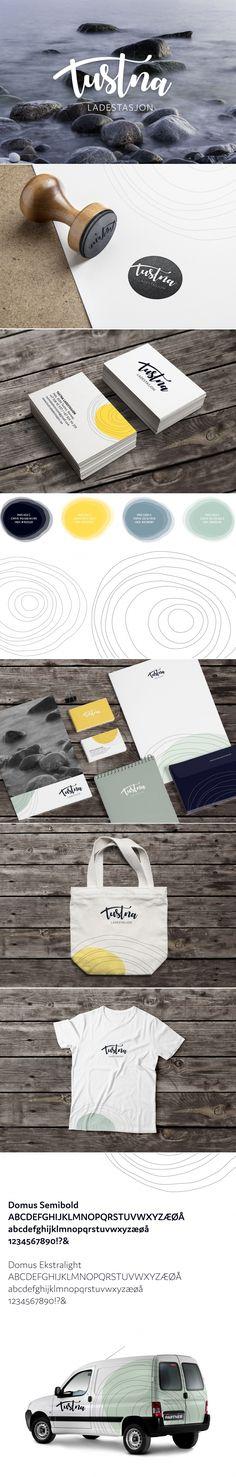 Visuell identitet for Tustna Ladestasjon Identity Design, Your Image, Brand Identity Design