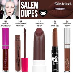 Dupes for Salem by Limecrime