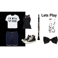 band by spirtgirl13 on Polyvore featuring Oasis, Replay and Converse