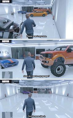 Gavin and his garage
